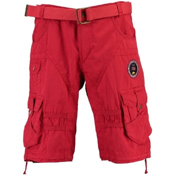 Vêtements Homme Shorts / Bermudas Geographical Norway Bermuda Homme Perth Rouge