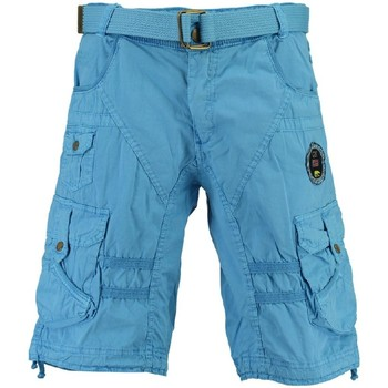 Vêtements Homme Shorts / Bermudas Geographical Norway Bermuda Homme Perth Turquoise