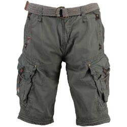 Vêtements Homme Shorts / Bermudas Geographical Norway Bermuda Homme Parapente Gris