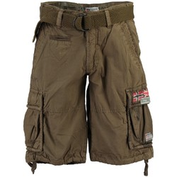 Vêtements Homme Shorts / Bermudas Geographical Norway Bermuda Homme Pasteque Kaki