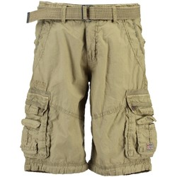 Vêtements Homme Shorts / Bermudas Geographical Norway Bermuda Homme Palmier Beige