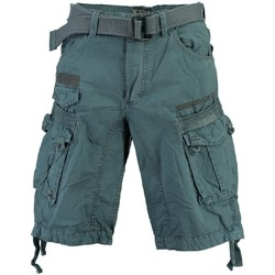 Vêtements Homme Shorts / Bermudas Geographical Norway Bermuda Homme Panoramique Color Bleu