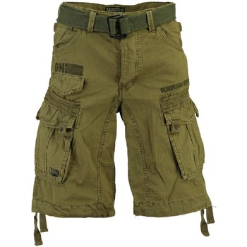 Vêtements Homme Shorts / Bermudas Geographical Norway Bermuda Homme Panoramique Basic Mastic