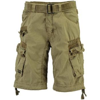 Vêtements Homme Shorts / Bermudas Geographical Norway Bermuda Homme Panoramique Basic Beige