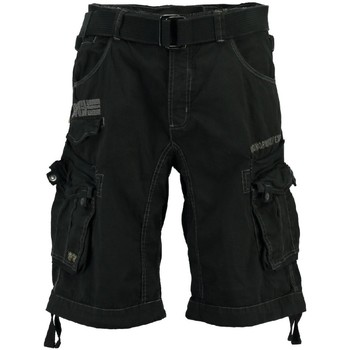 Vêtements Homme Shorts / Bermudas Geographical Norway Bermuda Homme Panoramique Basic Noir