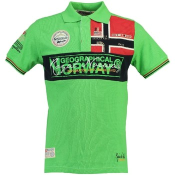 Vêtements Homme Polos manches courtes Geographical Norway Polo Homme Koala Vert