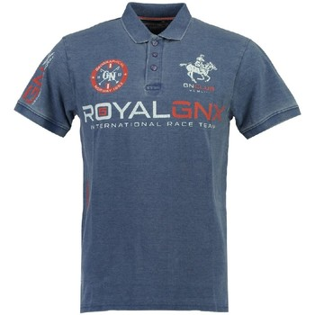 Vêtements Homme Polos manches courtes Geographical Norway Polo Homme Kolmar Bleu