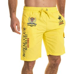 Vêtements Homme Shorts / Bermudas Geographical Norway Short de bain homme jaune fluo été jaune