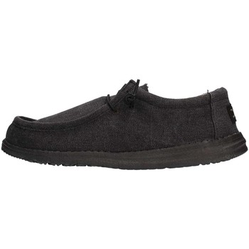 Chaussures Homme Chaussures bateau Hey Dude WALLY Sneaker Homme Noir Noir