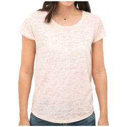 Vêtements Femme Polos manches courtes Le Temps des Cerises T-Shirt Femme Quincey Rose 13