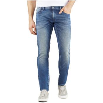 Vêtements Homme Jeans Le Temps des Cerises Jegging 711 WM102 Bleu Bleu