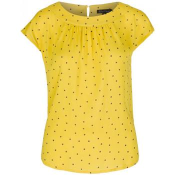 Vêtements Femme Débardeurs / T-shirts sans manche King Louie Top Shirley Tiny Tango Jaune Jaune