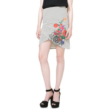 Vêtements Femme Jupes Desigual Jupe Xenia Blanc 71F2YB0 1