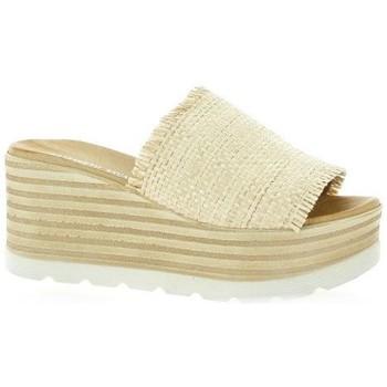 Chaussures Femme Mules Elizabeth Stuart Mules toile Beige