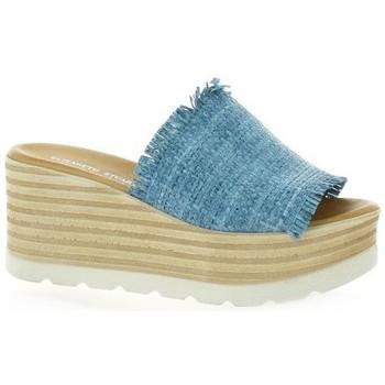 Chaussures Femme Mules Elizabeth Stuart Mules toile Bleu