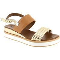 Chaussures Femme Sandales et Nu-pieds Inuovo 8957 Camel