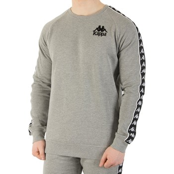 Pull Kappa Homme Authentique Hassan Slim Fit Sweat, Gris