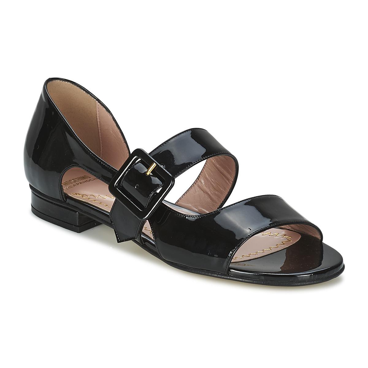 Sandale Moschino Cheap & CHIC LORETTA Noir