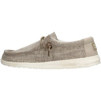Chaussures Homme Baskets basses Hey Dude WALLY WOVEN Sneaker Homme Beige Beige