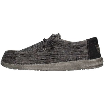 Chaussures Homme Baskets basses Hey Dude WALLY WOVEN Sneaker Homme Gris Gris
