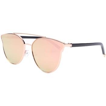 Montres & Bijoux Femme Lunettes de soleil Eye Wear Lunettes de soleil miroir rose femme fashion Lola Rose