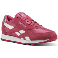 Chaussures Fille Baskets basses Reebok Sport Classic Nylon Junior - Ref. CN1263 Rose