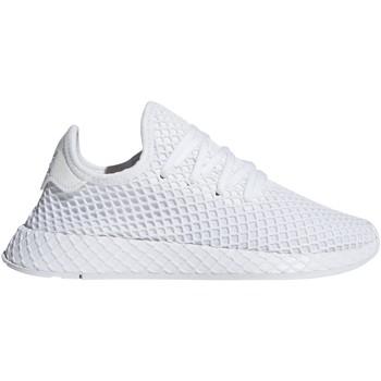 Chaussures Garçon Baskets mode adidas Originals Baskets Enfant Deerupt Runner J Ftwr White/Ftwr White/Ftwr Whit Blanc