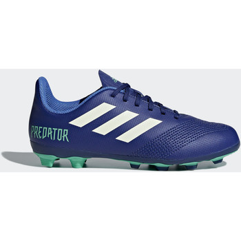 Chaussures Enfant Football adidas Performance Chaussure Predator 18.4 Multi-surfaces Bleu / Turquoise