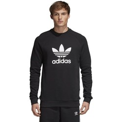 Vêtements Homme Sweats adidas Originals Originals Trefoil Crewneck Black Noir