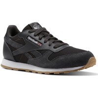 Chaussures Enfant Baskets basses Reebok Sport CL Leather Estl Noir