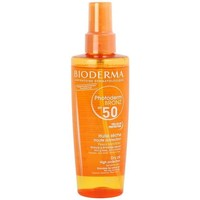 Beauté Femme Protections solaires Bioderma Solaires Bioderma Photoderm Bronz Huile SPF50 200Ml