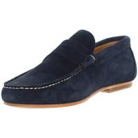 Chaussures Mocassins Baxton Mocassins  ref_bom43399-marine Bleu