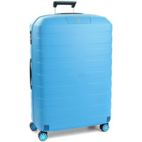 Sacs Valises Rigides Roncato Valise trolley medium Box 2.0  ref_ron41083 turquoise bleu