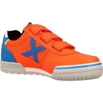 Chaussures Enfant Baskets basses Munich Fashion G 3 KID VCO Orange