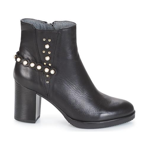 Damoiseau Noir Bottines Femme Chaussures Metamorf'ose 3AjLc5R4q