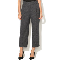 Vêtements Femme Pantalons fluides / Sarouels Liu Jo F67190 Anthracite
