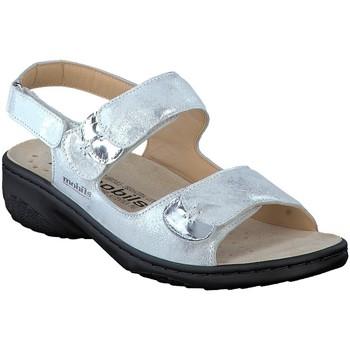 Chaussures Femme Sandales et Nu-pieds Mephisto Sandale GETHA ées Argent
