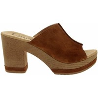 Chaussures Femme Sandales et Nu-pieds Lince Zueco Mujer 81104 Serraje Cuero Cuir