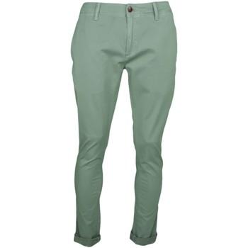 Vêtements Homme Pantalons Tommy Jeans Pantalon chino  vert kaki slim fit pour homme Vert