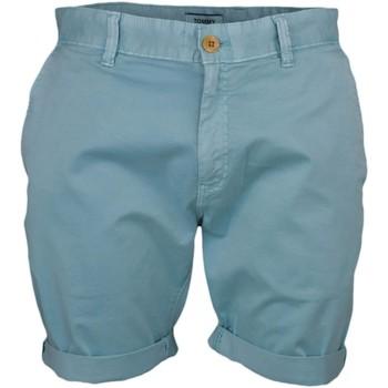 Vêtements Homme Shorts / Bermudas Tommy Jeans Short  bleu turquoise pour homme Bleu