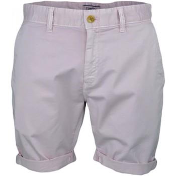 Vêtements Homme Shorts / Bermudas Tommy Jeans Short  rose pâle pour homme Violet