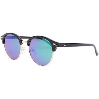 Montres & Bijoux Lunettes de soleil Eye Wear Lunettes de soleil rondes miroir bleu Nory Bleu
