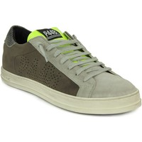 Chaussures Homme Baskets basses P448 Homme p448 sneakers taupe et fluo Beige