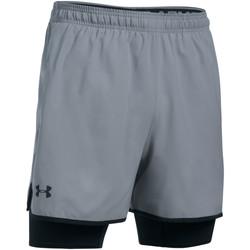 Vêtements Homme Shorts / Bermudas Under Armour Short  Qualifier 2-in-1- Ref. 1289625-035 Gris