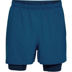 Vêtements Homme Shorts / Bermudas Under Armour Short  Qualifier 2-in-1- Ref. 1289625-487 Bleu