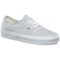 Chaussures Baskets mode Vans Chaussures  U Authentic - Jersey Gray / True White Gris