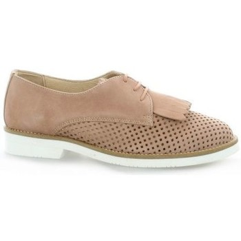 Chaussures Femme Derbies So Send Derby cuir velours Naturel