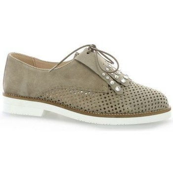 So send Derby Cuir Velours Taupe - 40 rznU2