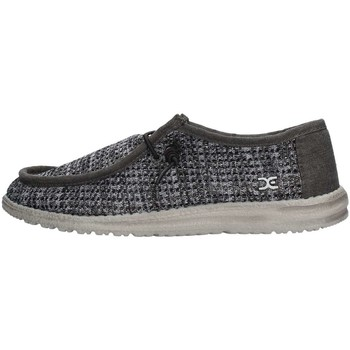 Chaussures Homme Chaussures bateau Hey Dude WALLY SOX PERFORATED Sneaker Homme Noir Noir