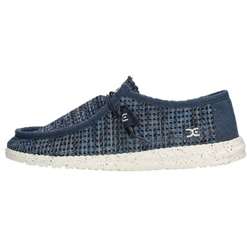 Chaussures Homme Chaussures bateau Hey Dude WALLY SOX PERFORATED Sneaker Homme Bleu Bleu